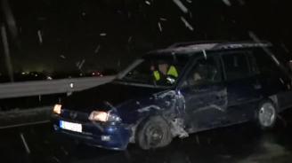 Тежка верижна катастрофана пътя София - Кулата