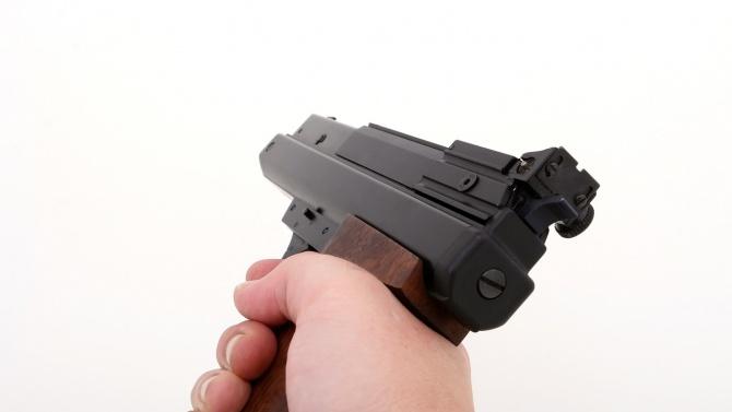 Мъж насочи пистолет срещу шофьор и му отмъкна 30 бона