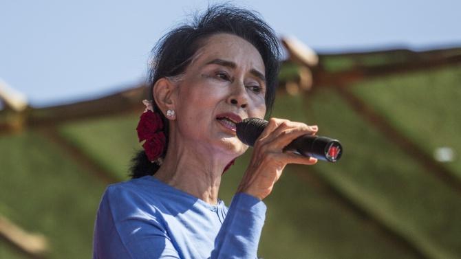 Аун Сан Су Чжи призова народа на Мианма да се противопостави на военния преврат