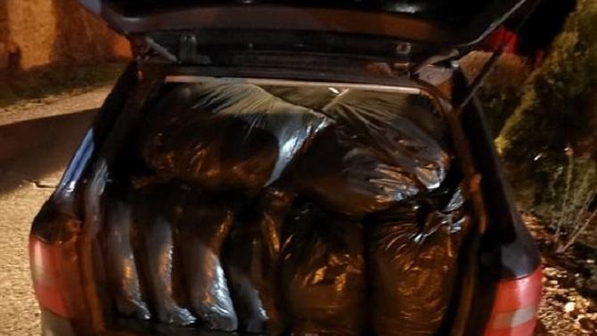 Заловиха 210 кг контрабанден тютюн в Сливен