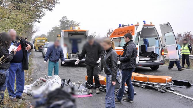 Пиян шофьор уби жена в Кърджали, роднини искат главата му