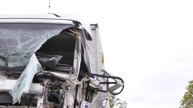 Зрелищна катастрофа на пътя Златна Панега - Румянцево