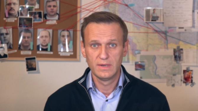 Осъдиха Алексей Навални на 3,5 г. затвор