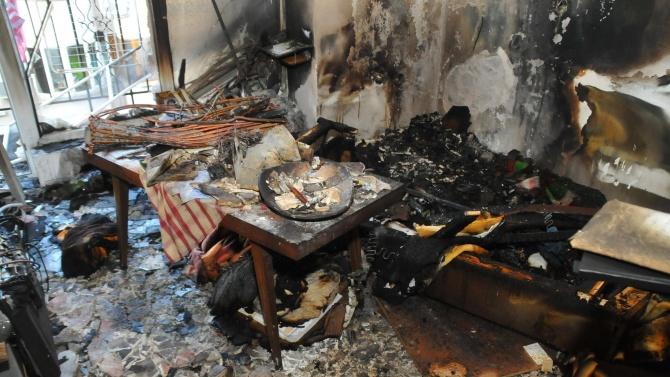 Пенсионер загина при пожар в дома си