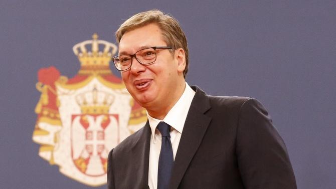 """Вучич: """"Балкански поток"""" помага за енергийната стабилност на Сърбия"""
