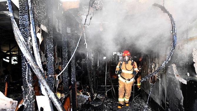 Пожар остави четири трупа в COVID болница в Украйна