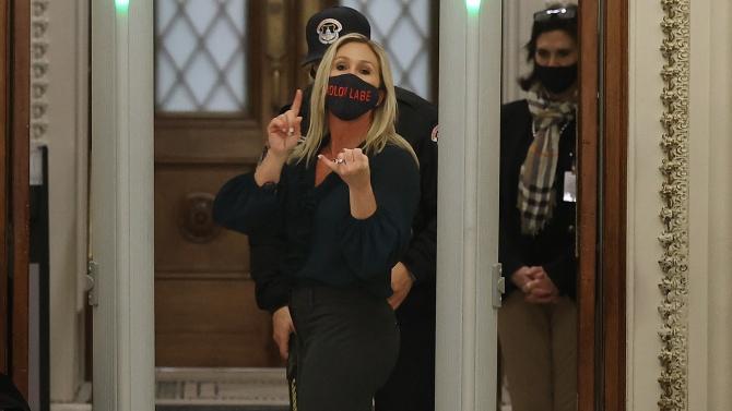Изгониха депутатката, поискала импийчмънт на Джо Байдън