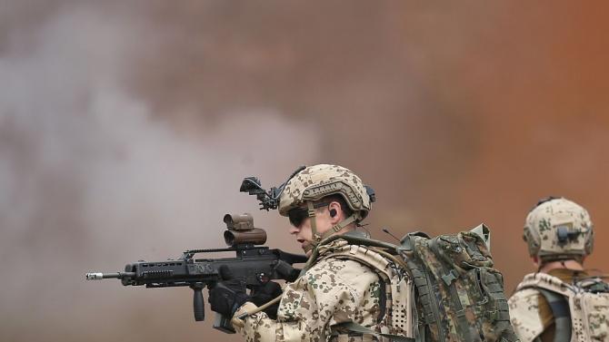 Германия съобщи за рекордно увеличаване на разходите си за отбрана