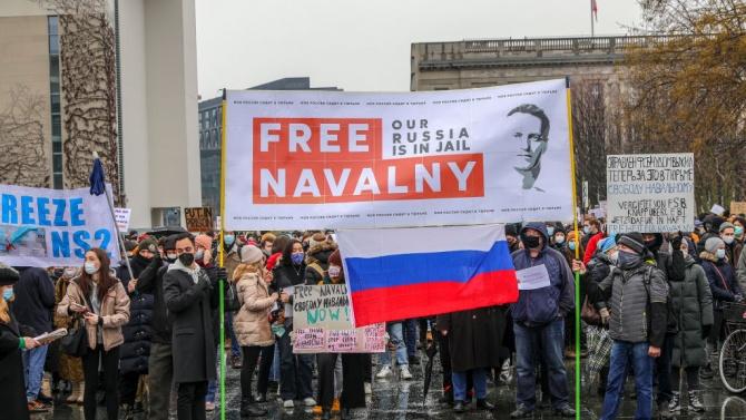 Съратник на Навални обсъждал санкции с ЕС
