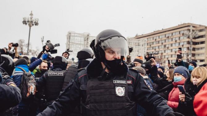 Русия засилва наказанията за нарушаване на правилата за провеждане на протести