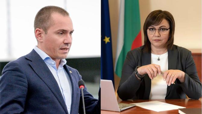 Искри хвърчат между Корнелия Нинова и Ангел Джамбазки във Фейсбук