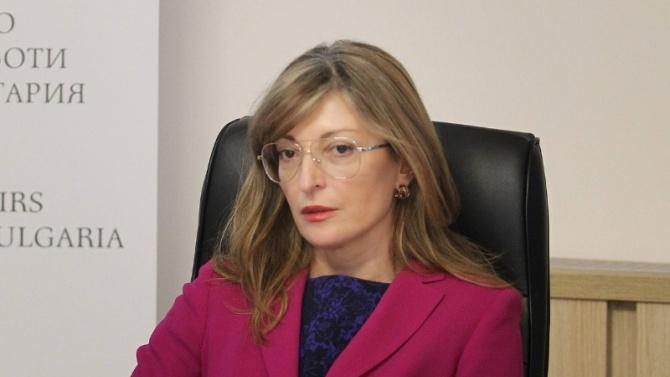 Захариева отговори на нападки на Заев, коментира и смъртта на Скатов