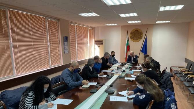Под председателството на областния управител на Видин Момчил Станков, се