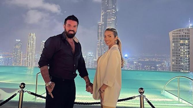 Златка и Благо избягаха на топло в Дубай