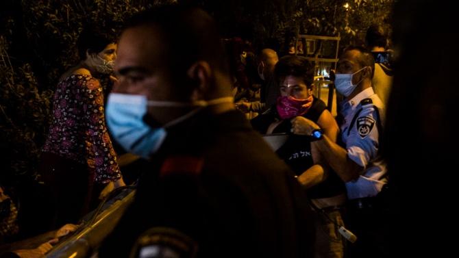 Сблъсъци между израелската полиция и ултраортодоксални евреи