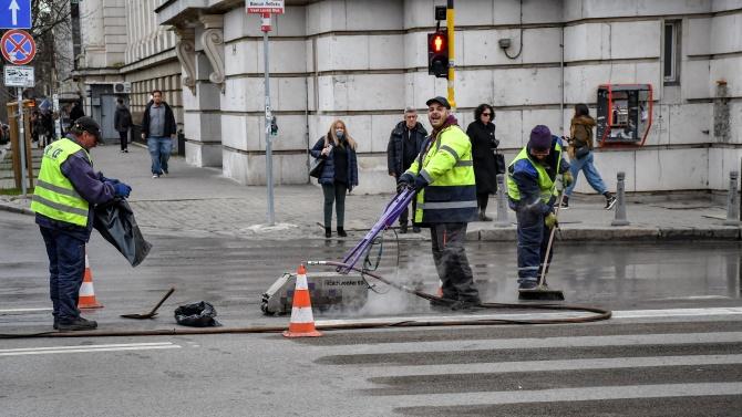 Премахват пешеходната пътека при Софийския университет