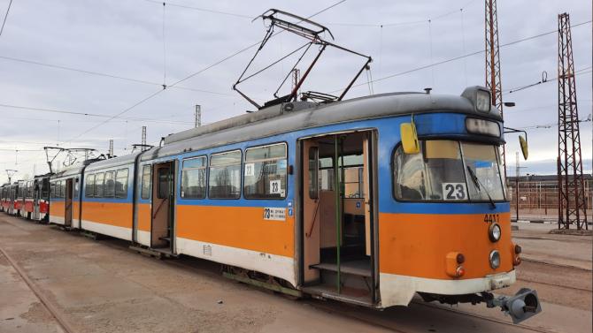 """Трамвай 23 """"проговори"""""""