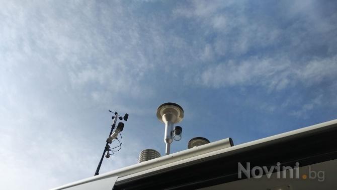 Няма замърсяване на въздуха в София, според новата мобилна екостанция