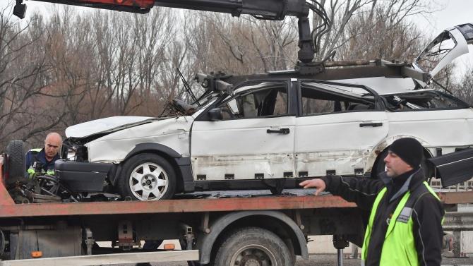 Кола падна в река в София, човек загина