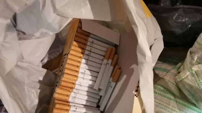 Над 12 хиляди къса контрабандни цигари са иззети от два