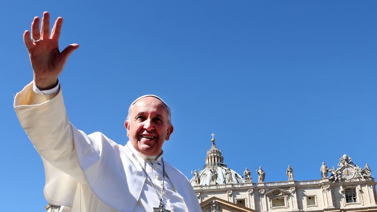 Папа Франциск поздрави влюбените за Деня на Свети Валентин