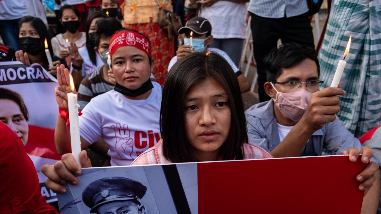 Протестите срещу военния преврат в Мианма продължават