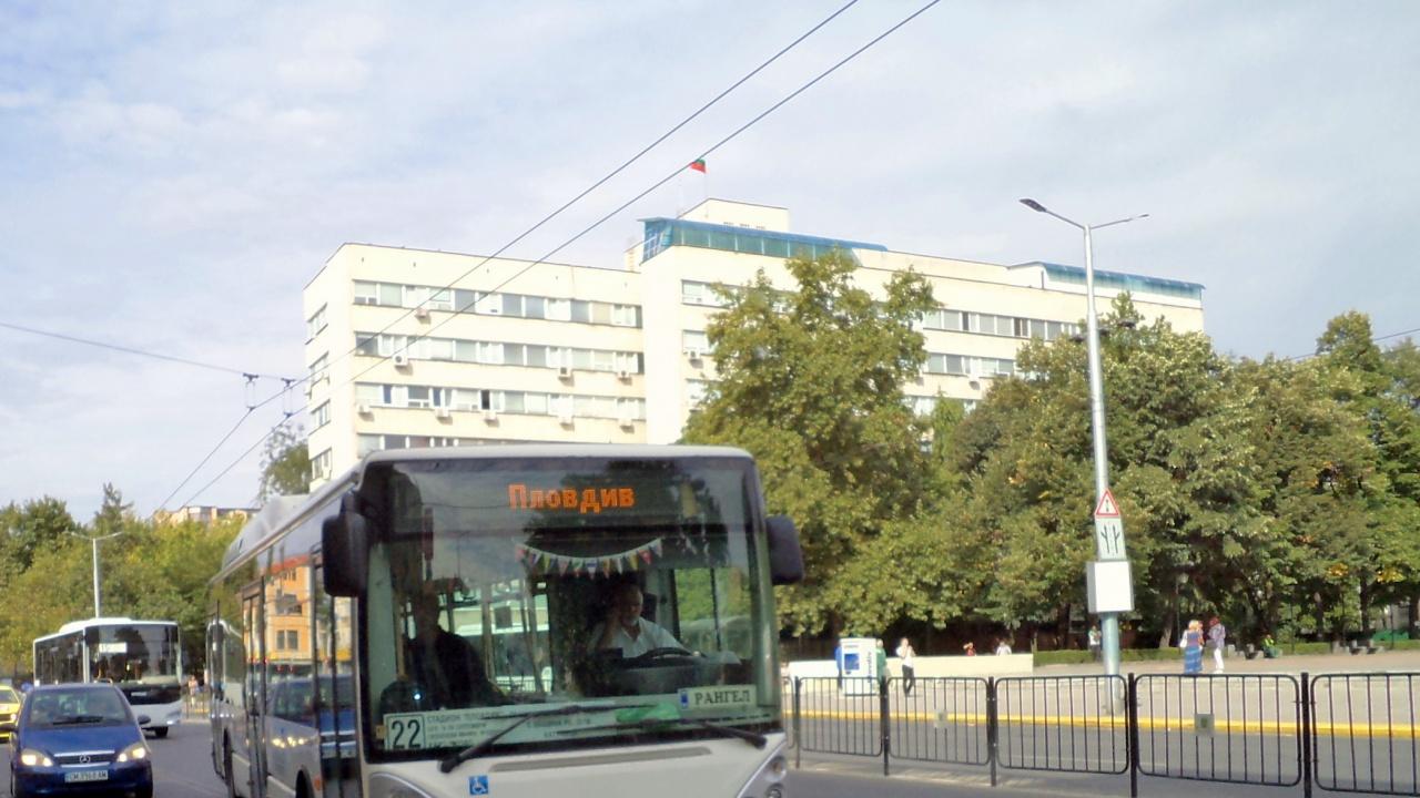 Пускат повече автобуси по линия 22 на градския транспорт в Пловдив