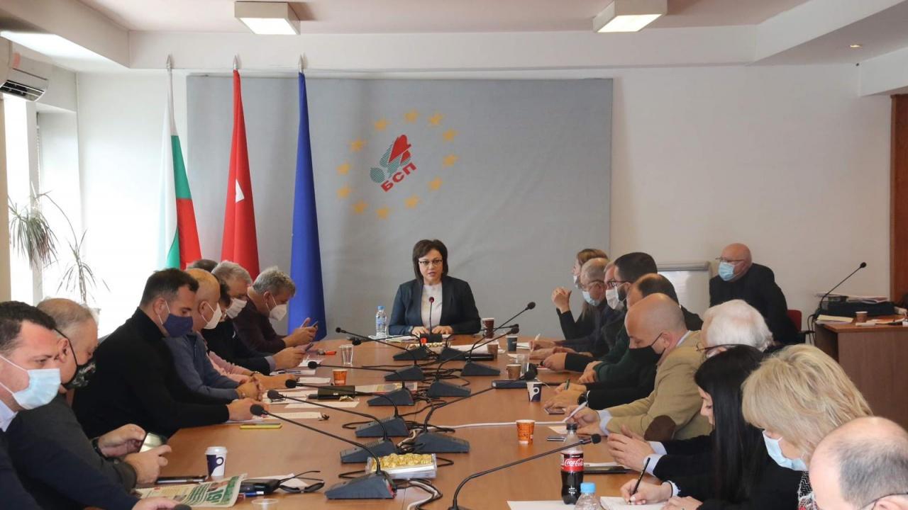 Корнелия Нинова към водачите на листи на БСП: Очаквам от вас в кампанията работа и отдаденост с грижа за хората