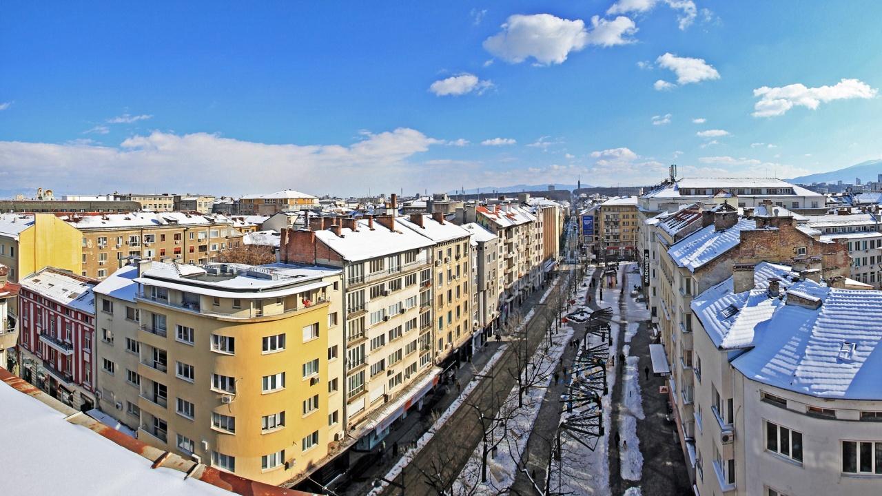 След снеговалежа и студа, зимно слънце разкри прекрасни гледки над София