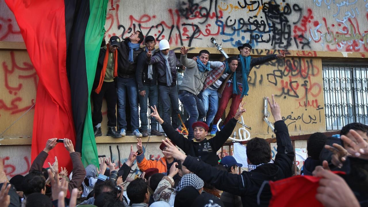 Празненства в Либия по повод 10-годишнината от смъртта на Кадафи
