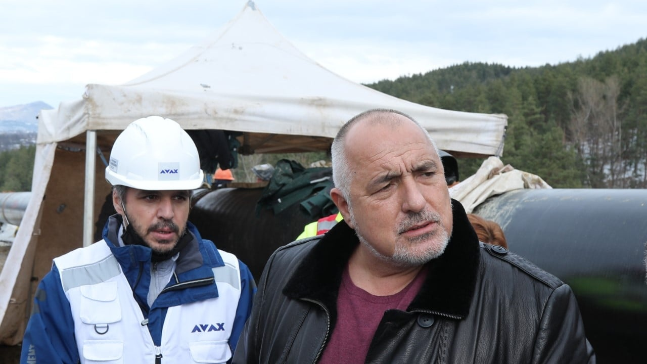 """Борисов: Тази година газопроводът """"България - Гърция"""" трябва да е готов"""
