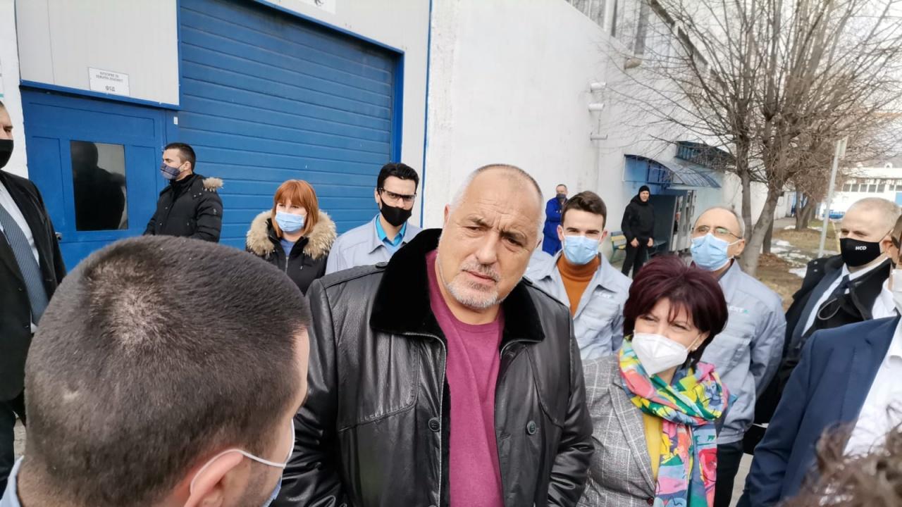 Борисов посети завод в Кърджали и сподели от какво му става драго