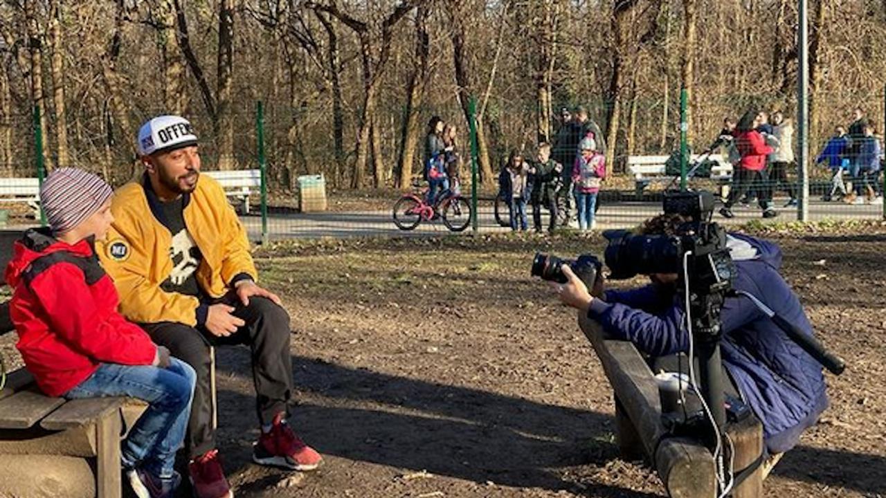 Хитово видео заснеха синът на Милен Цветков и 100 Кила