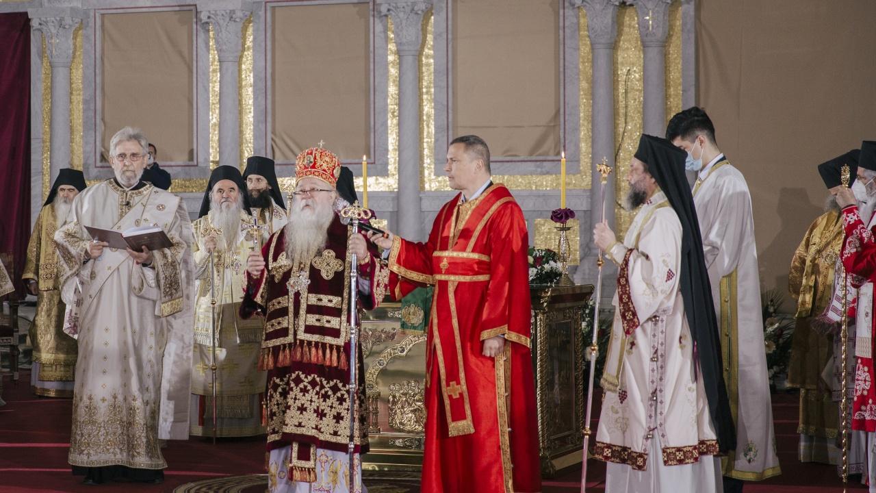 Интронизираха новия патриарх на СПЦ