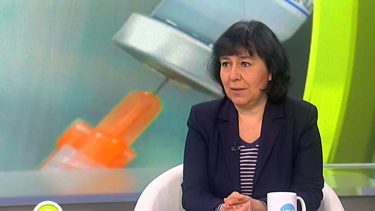 Проф. Петрова: Мерките са достатъчни, трябва широка кампания по ваксиниране