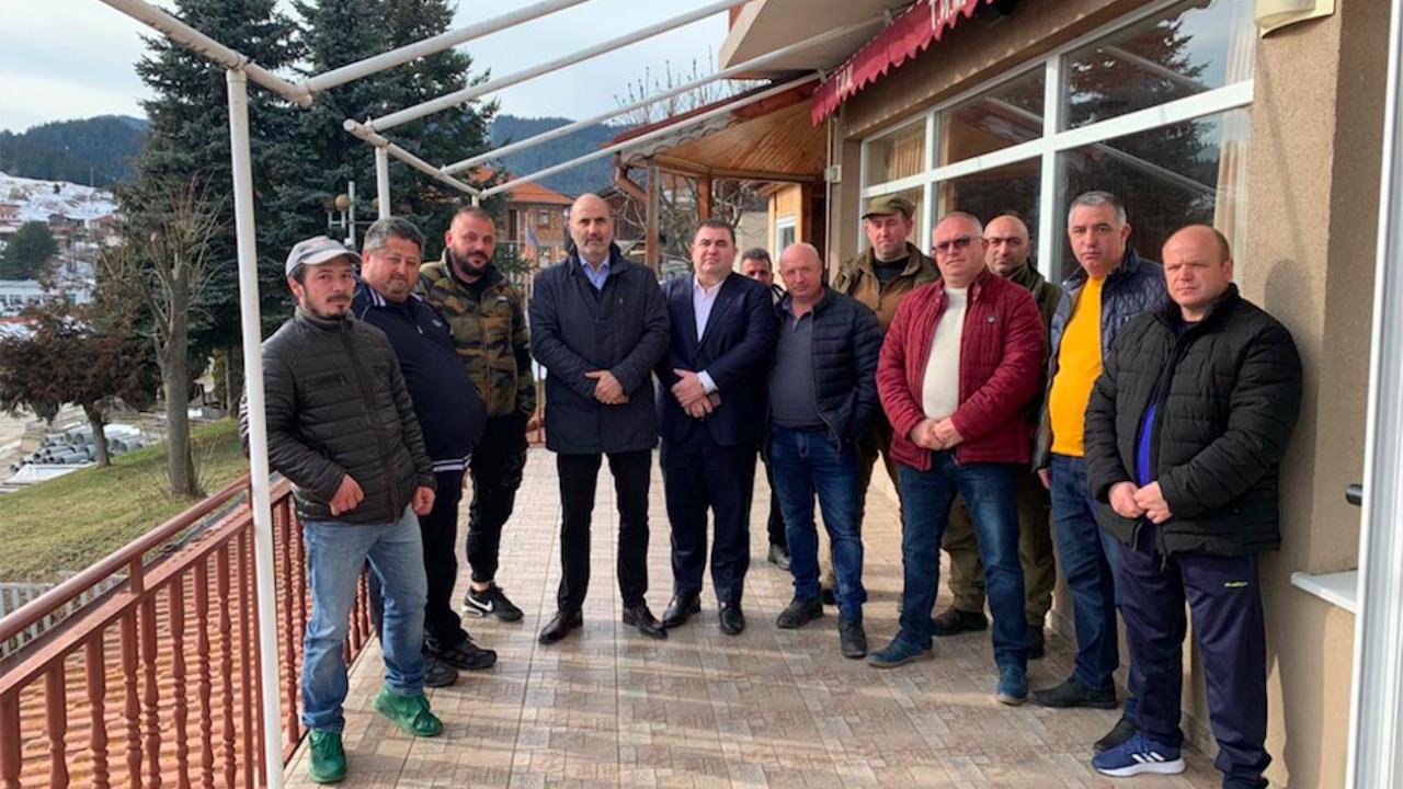 Цветан Цветанов и Павел Вълнев направиха работно посещение в Родопите