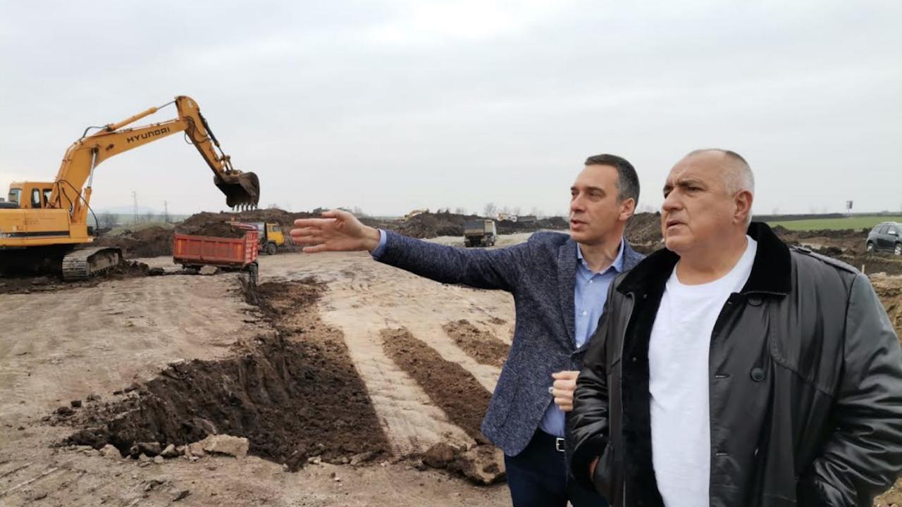 """Премиерът Борисов за """"Арена Бургас"""": Бургазлии ще са горди с тази зала"""
