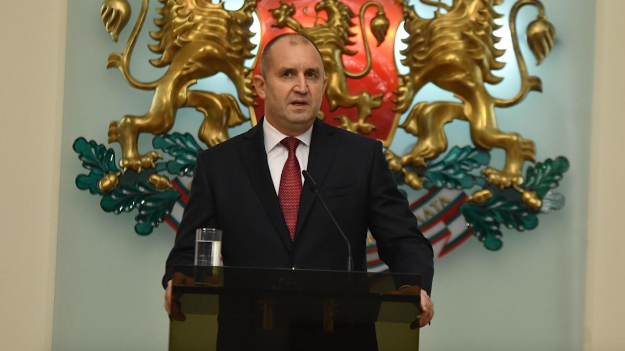 Радев: Българите в РС Македония трябва да имат равни права с останалите граждани