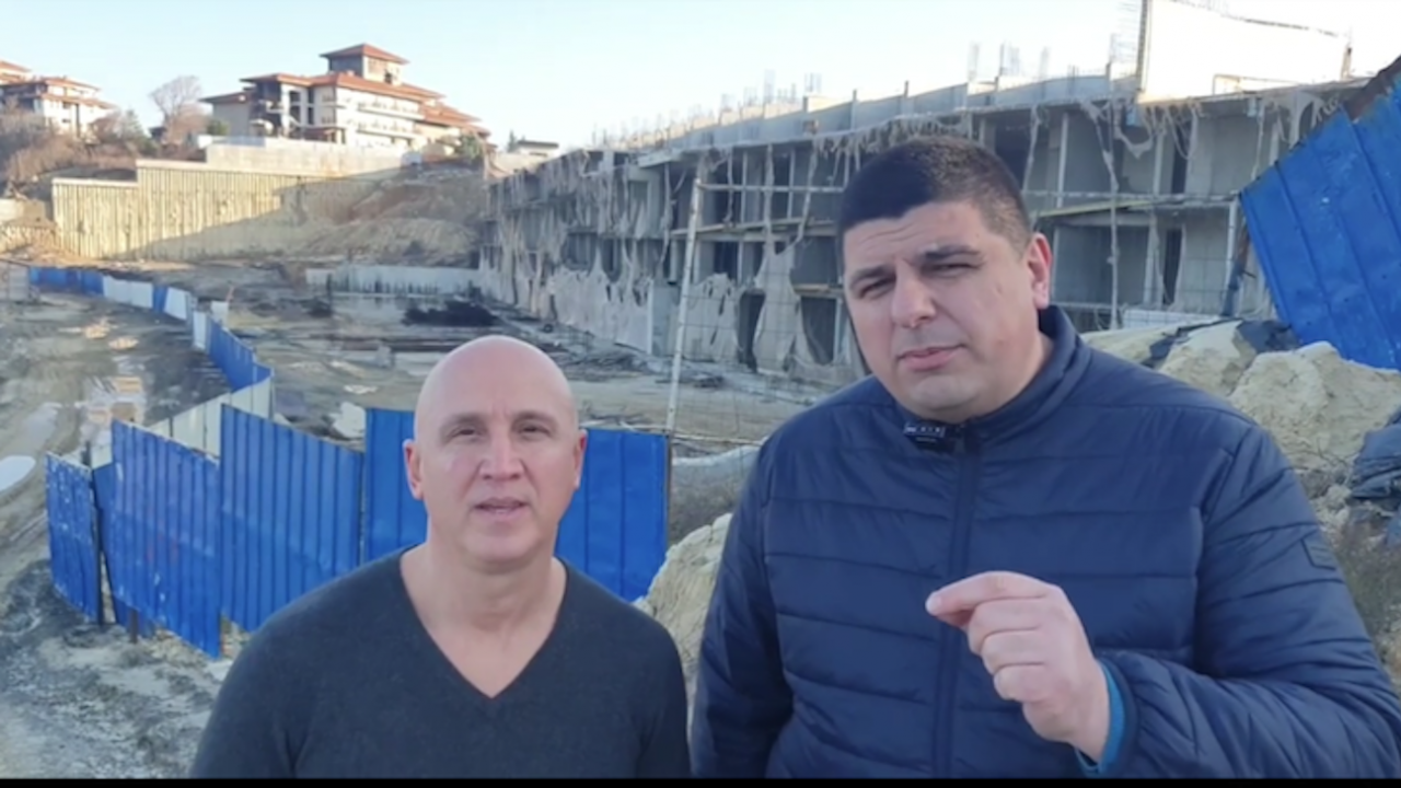"""Демократична България: Прокуратурата замита проблема с """"подпорния хотел"""" наАлепу"""