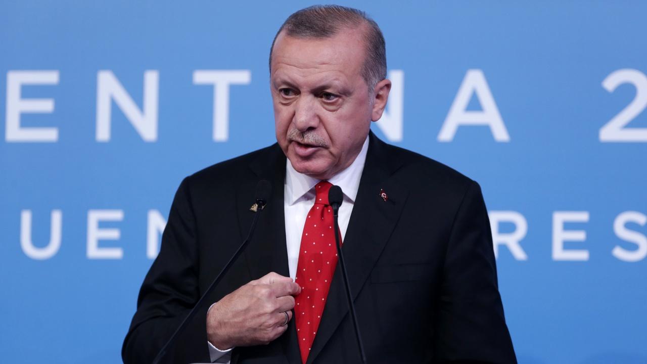 Ердоган отново обвини Гърция, че връща пристигащи по море мигранти