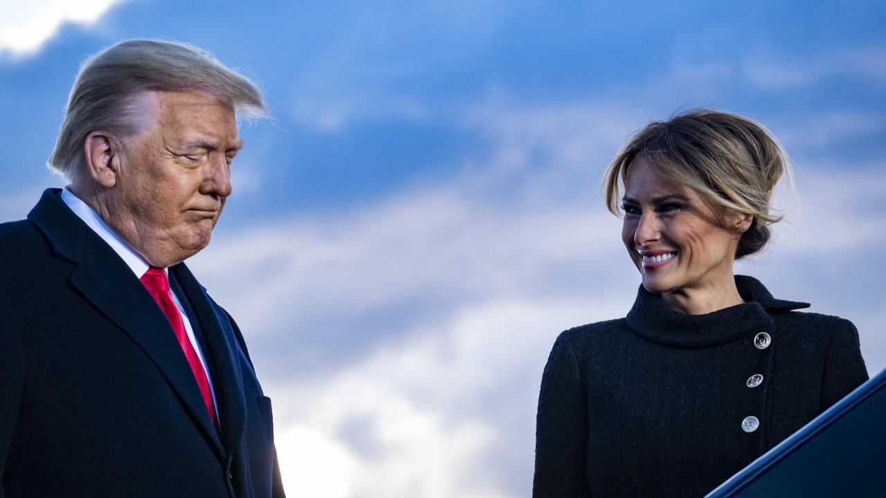 Първи снимки на Мелания Тръмп, след като напусна Белия дом