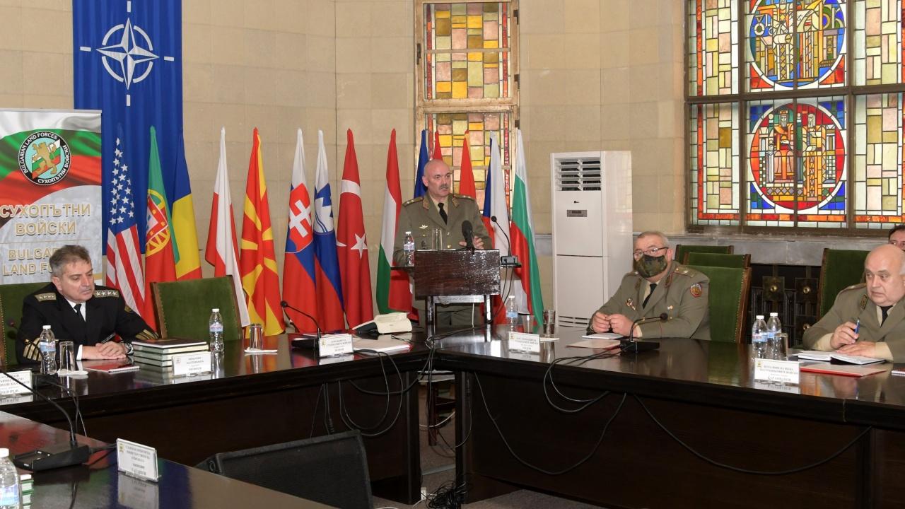 Емил Ефтимов: Сухопътните войски успешно проведоха учения, които не бяха правени от десетилетия