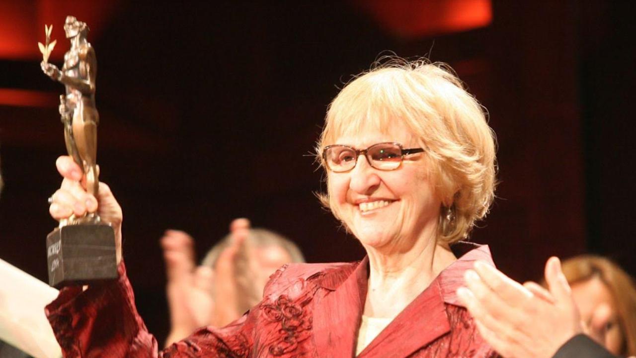 Един от доайените на НАТФИЗ проф. Надежда Сейкова навършва 90 години
