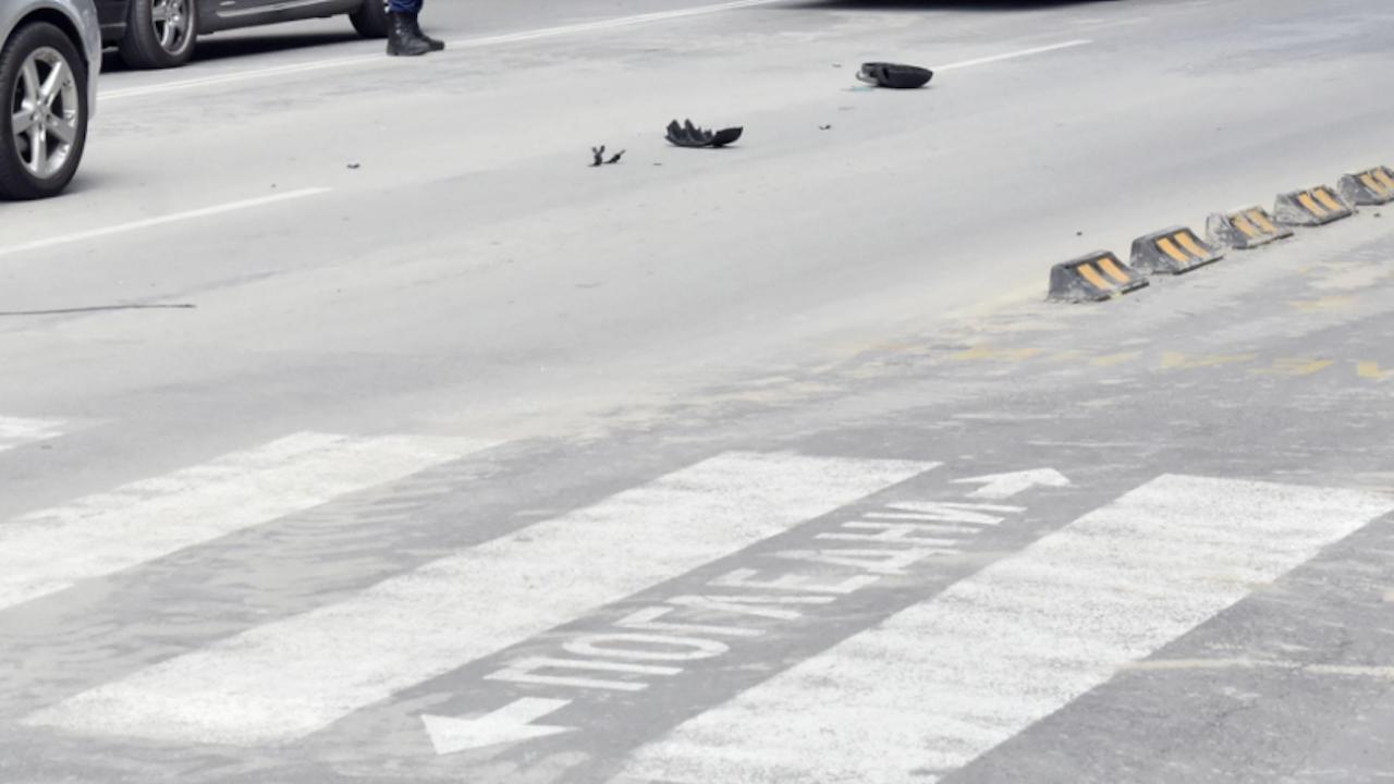Блъснаха мъж на пешеходна пътека в Благоевград