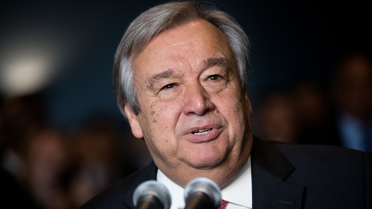 Португалия официално предложи Антониу Гутериш за втори мандат начело на ООН