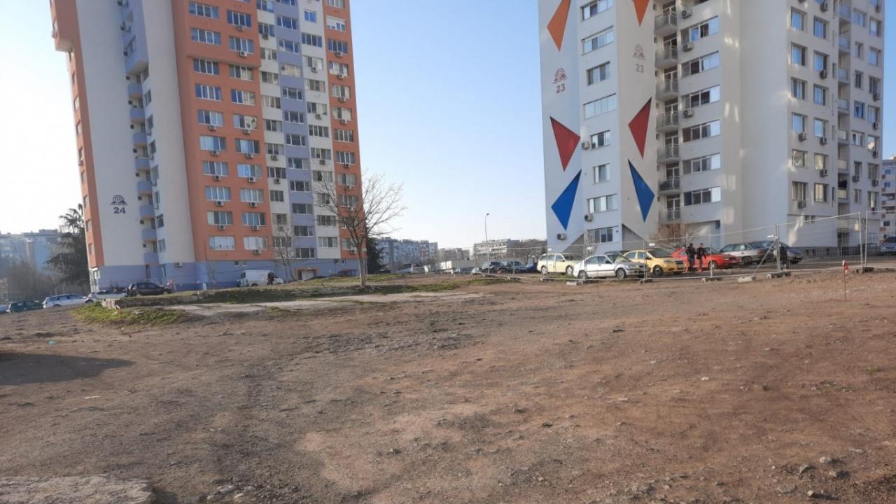 """Започна изграждането на нов паркинг със 100 места в """"Меден рудник"""""""