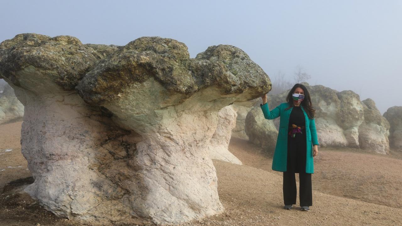 Посланик Мустафа посети Каменните гъби