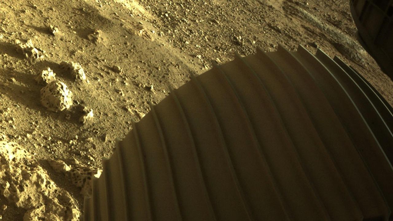 """Разкриха тайно послание в парашута на """"Пърсивиърънс"""" на Марс"""