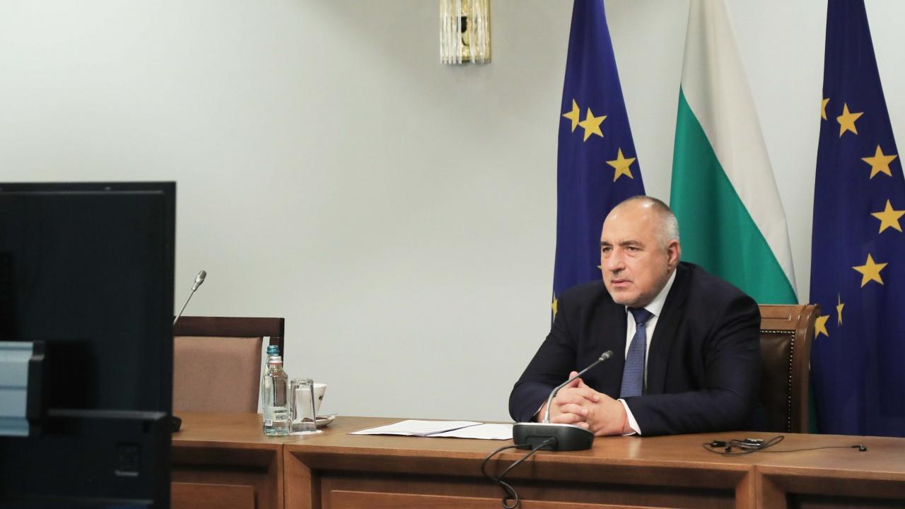 Премиерът Борисов ще докладва пред ЕС ситуацията с COVID-19 у нас