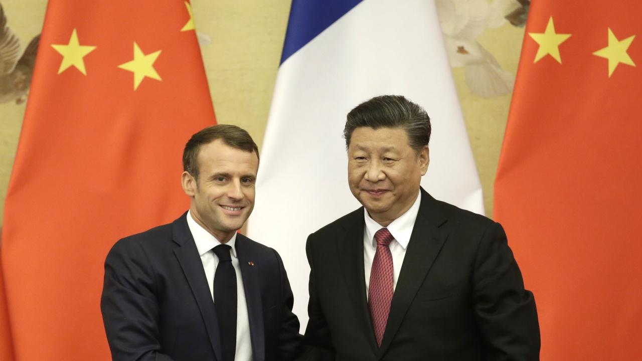 Президентите на Франция и Китай разговаряха, без да споменат въпроса за уйгурите